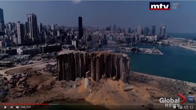 The destruction of Beirut