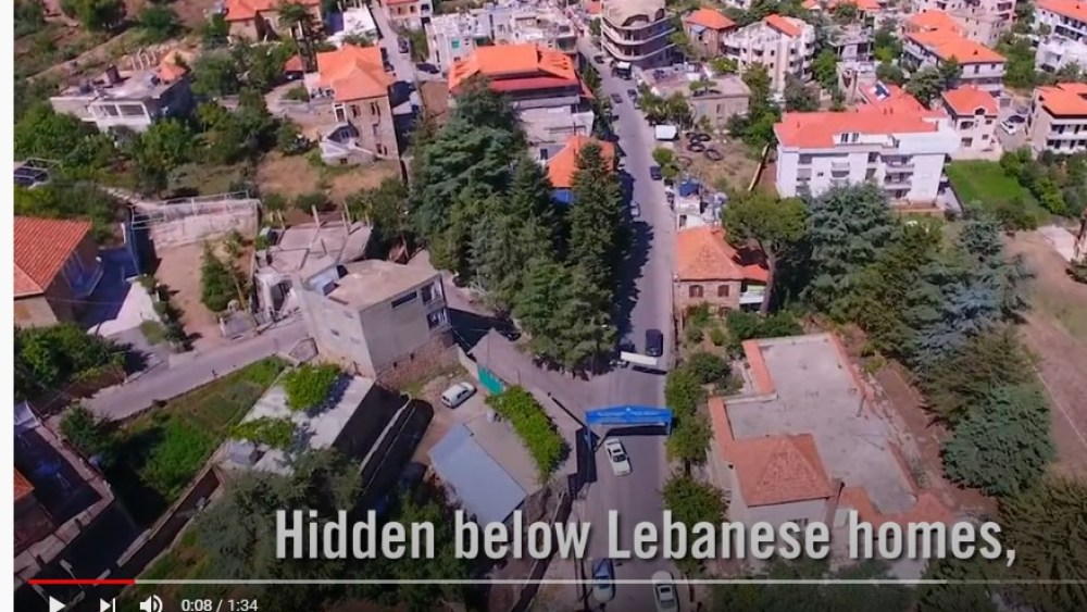 Israel Revealed the Weapons that Sit beneath Lebanon's Civilians