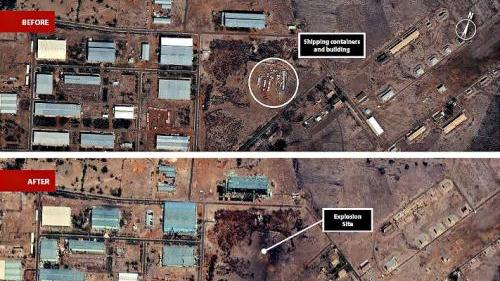 Satellite Sentinel Project photographs