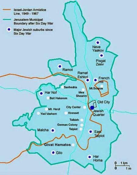 A Map of Jerusalem