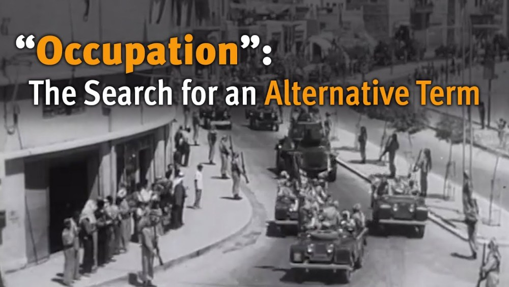"""Occupation"": The Search for an Alternative Term"