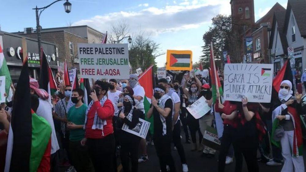 "Milton protest: ""Jews, remember [battle of] Khaybar, Muhammad's army will return"""