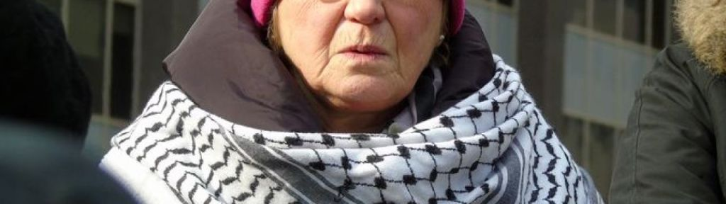 """Suzanne Weiss: """"Start posting them [BDS stickers] on merchandise made in Israel"""""""
