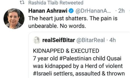 Rashida Tlaib retweet
