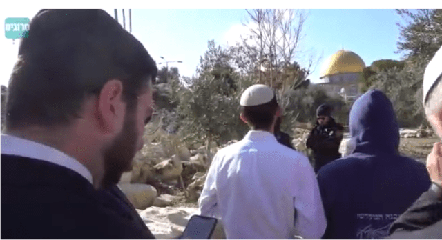 Jews on the Temple Mount