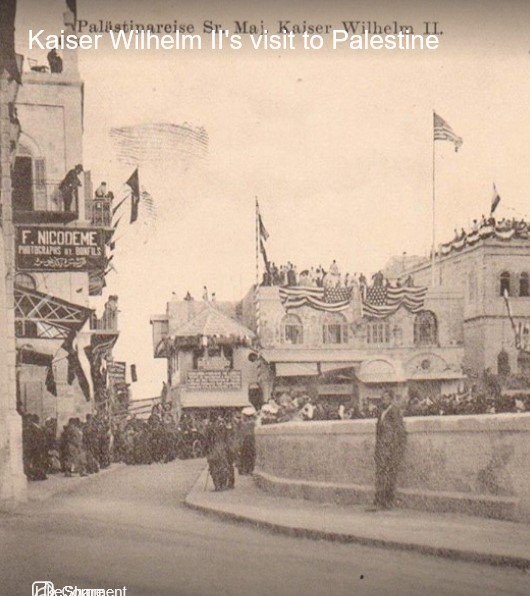 The American Consulate in the Old City of Jerusalem