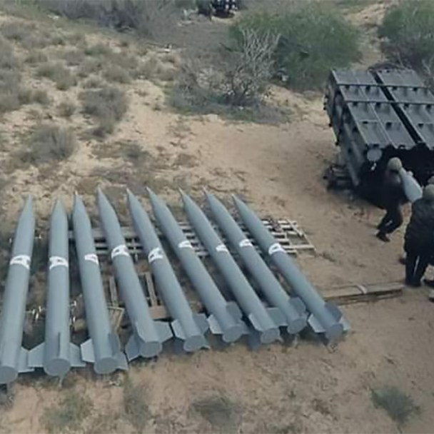 Hamas' Advanced Weaponry: Rockets, Artillery, Drones, Cyber