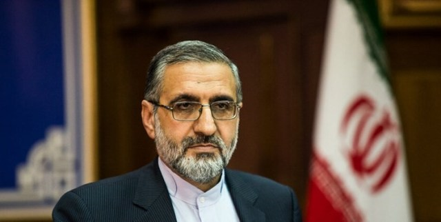 Gholamhossein Esmaili, the new chief of the staff of the president's office, former head of Iran's prison authority.