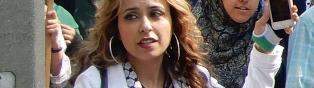 """Aliya Hasan: """"Israeli products are made with Palestinian blood"""""""