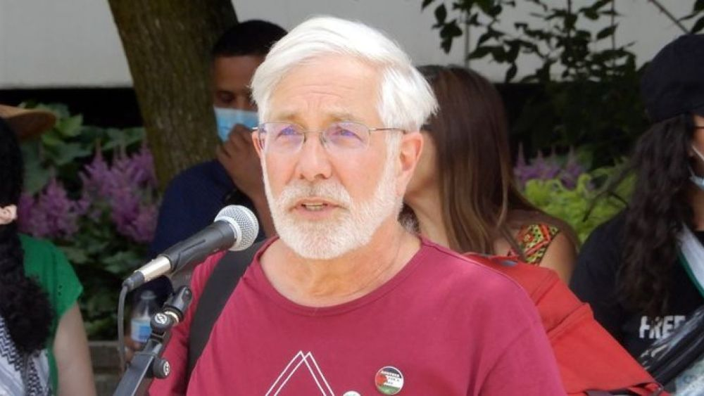 "David Mivasair: ""Free Palestine = destruction of Israel"""