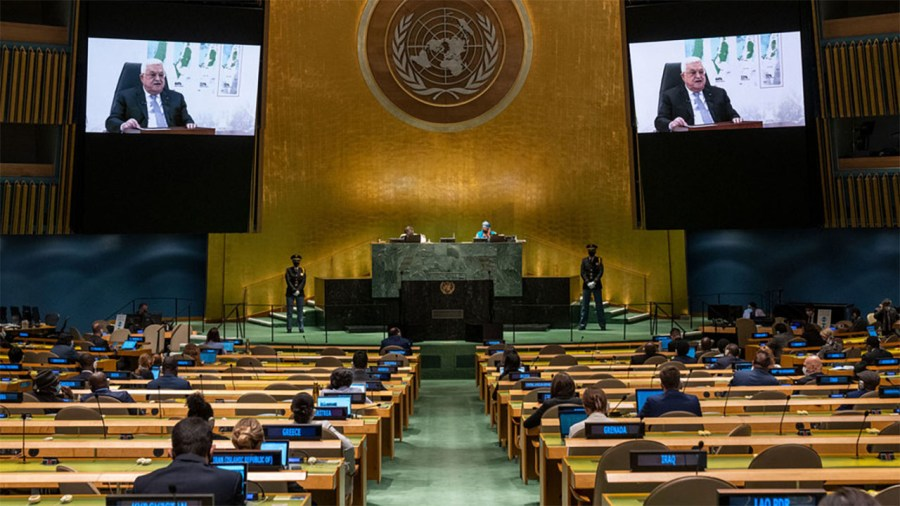 Mahmoud Abbas' Message of Hopelessness and Hostility at the UN