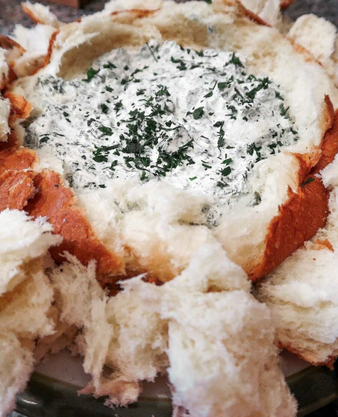 Homemade Spinach Dip - JCP Eats