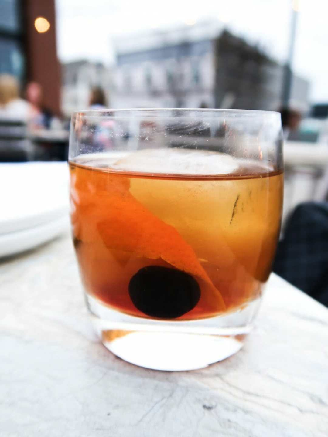 Old Fashioned At The 502 Bar & Bistro