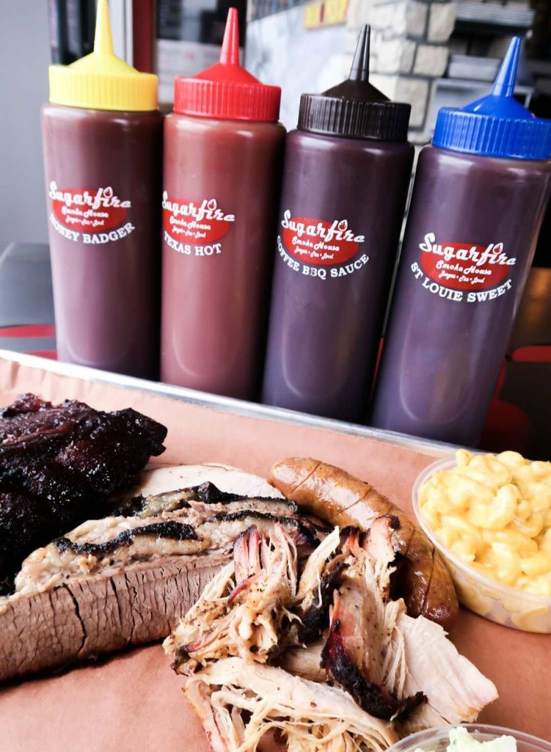 BBQ and Sides at Sugarfire Smokehouse in Union, KY