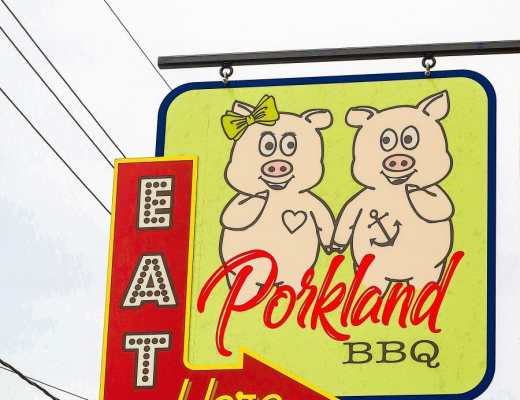 Porkland BBQ in the Portland Neighborhood of Louisville, KY