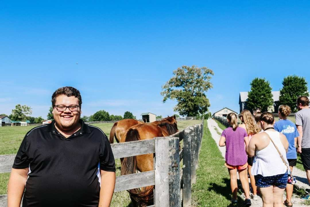 Kentucky Day Trip: Georgetown, KY - Old Friends Thoroughbred Retirement Farm