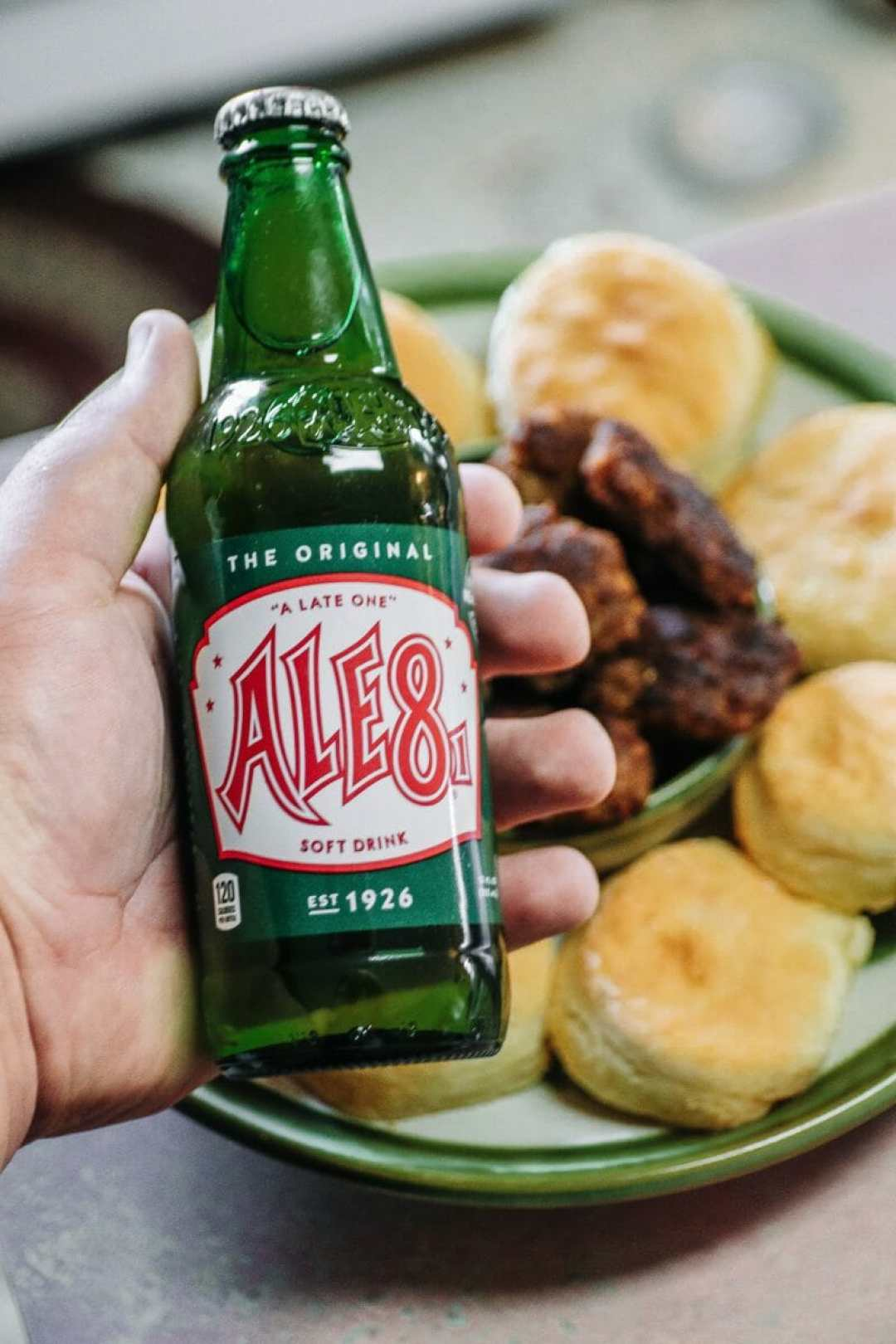 Ale-8-One Buttery Biscuit Recipe: Southern Biscuit Recipe Using Soda by JCP Eats/JC Phelps