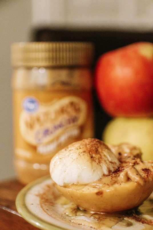 An Easy Fall Family-Friendly Recipe: Oven-Roasted, Peanut Butter S'mores Apples by JC Phelps of JCP Eats
