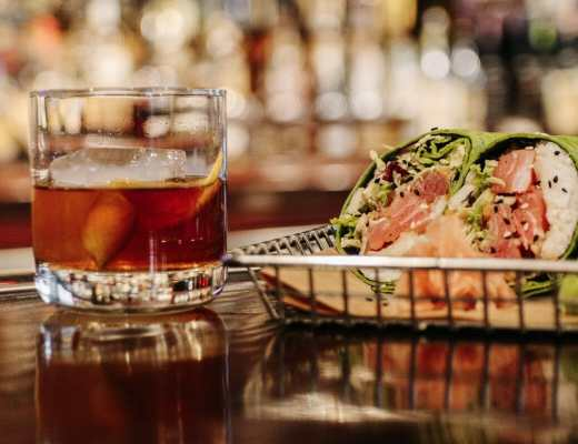 Dining at Down One Bourbon Bar and Restaurant in Downtown Louisville KY by JC Phelps of JCP Eats, a Kentucky-based Food, Lifestyle, and Travel Blog