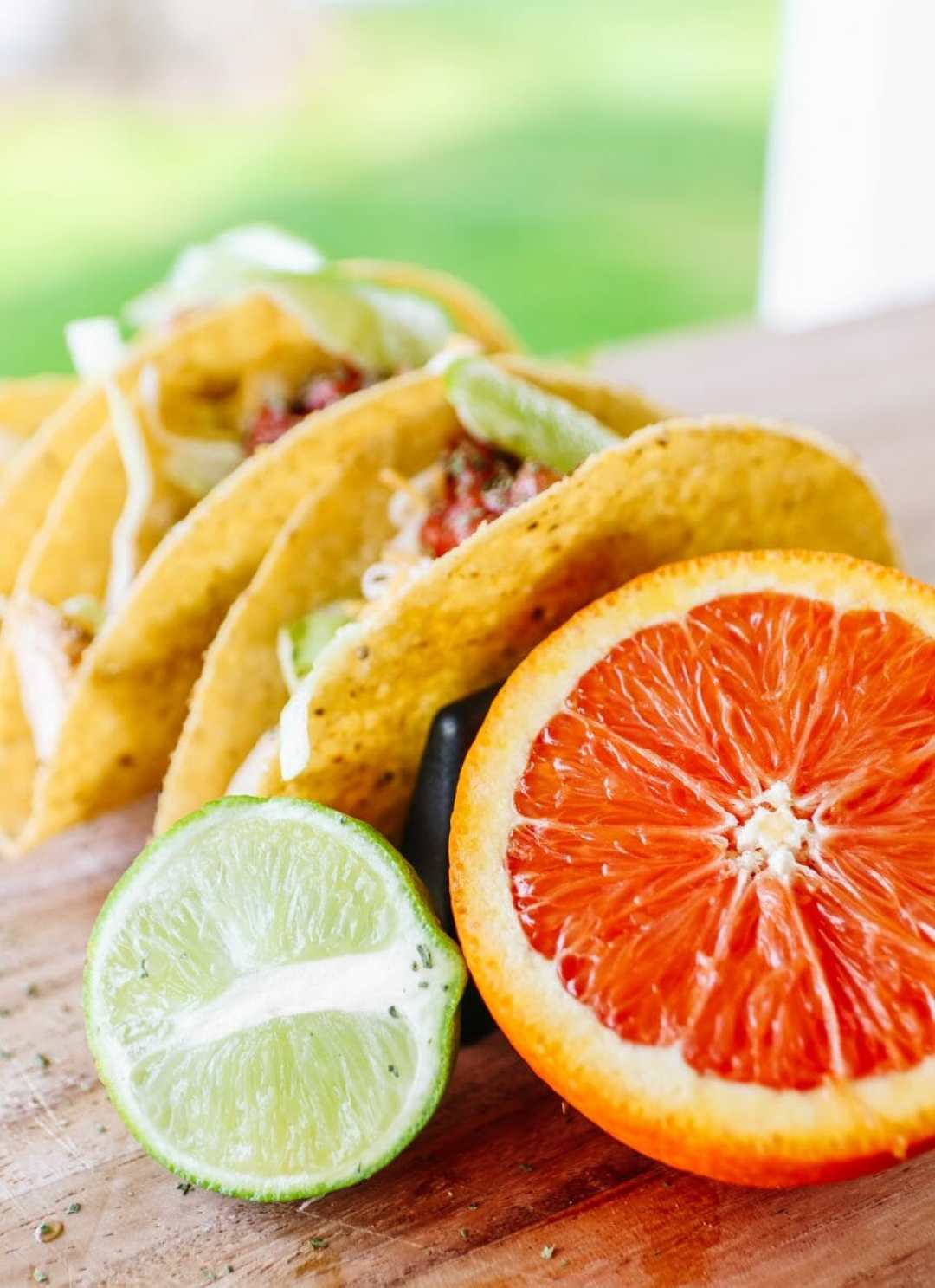 Tacos Made From The Easiest Crockpot Chicken, Made With Sunkist Oranges by JC Phelps of JCP Eats, A Kentucky Based Food, Travel, and Lifestyle Blog