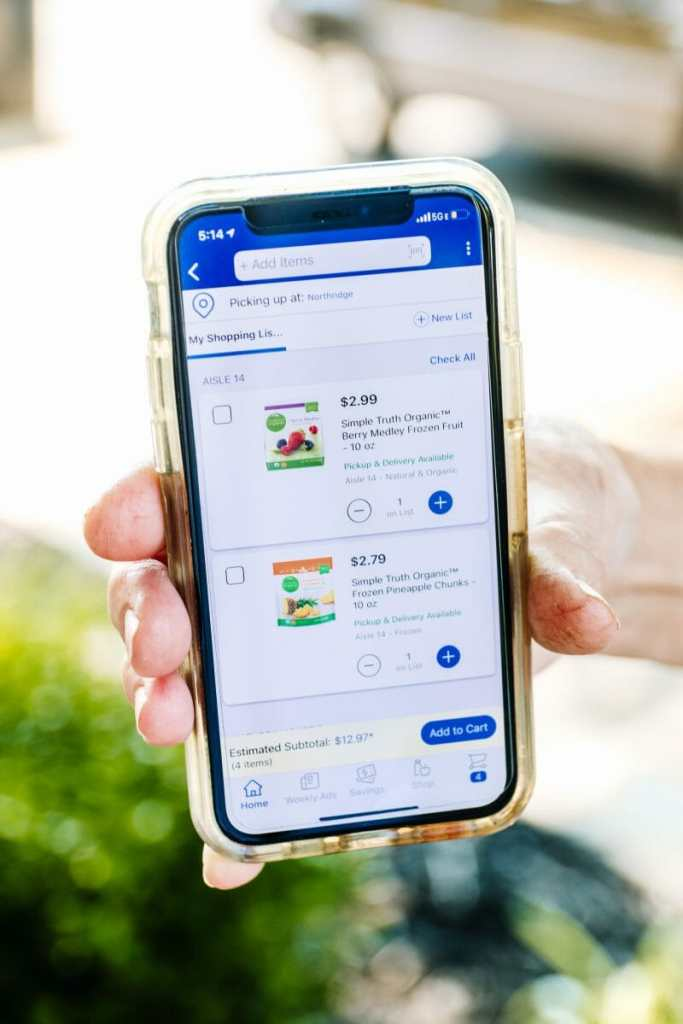 How To Best Use The Kroger App by JC Phelps of JCP Eats, a Kentucky blog