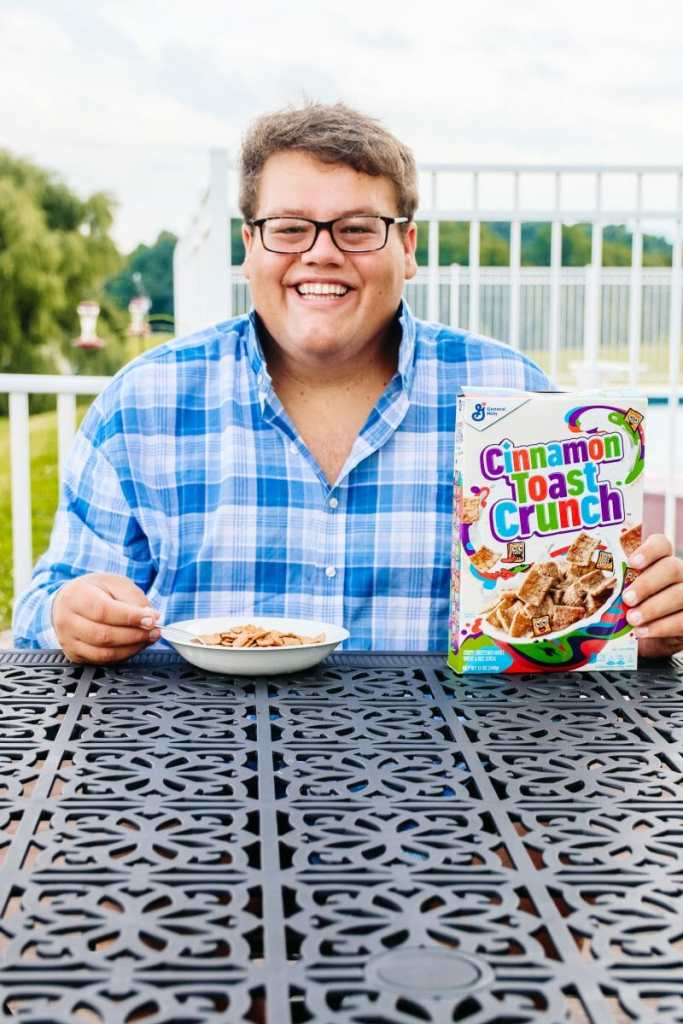 JC Phelps of JCP Eats - Cinnamon Toast Crunch