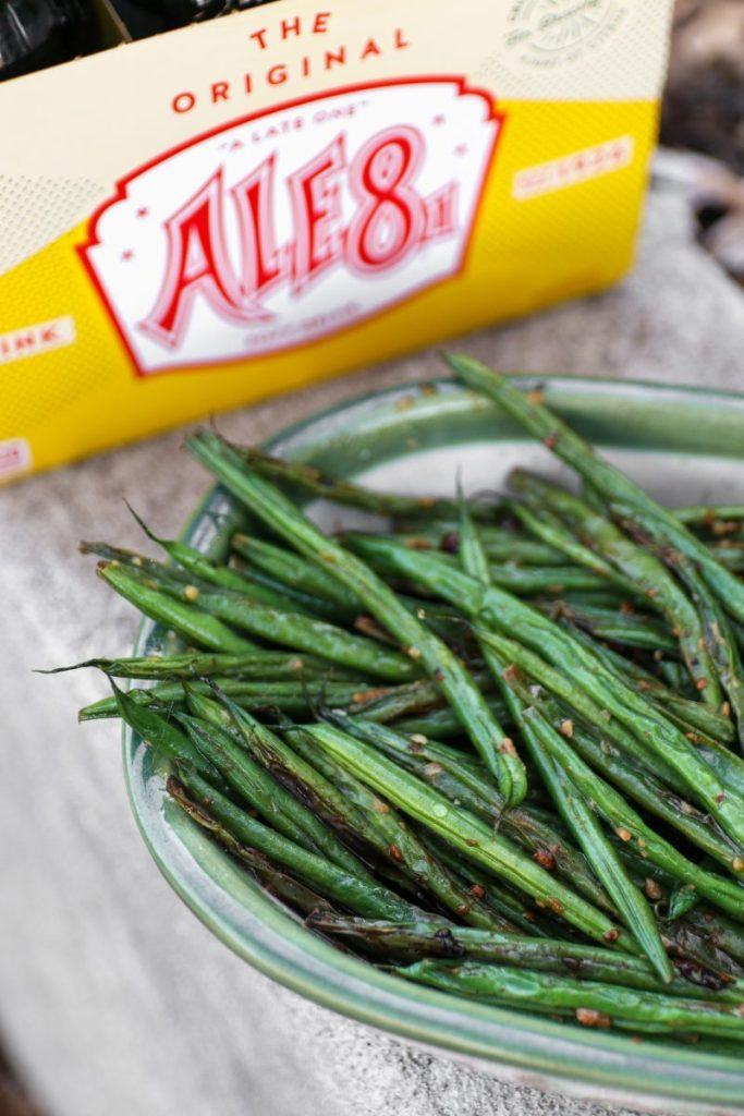 Ale 8 One Ginger Garlic Green Beans