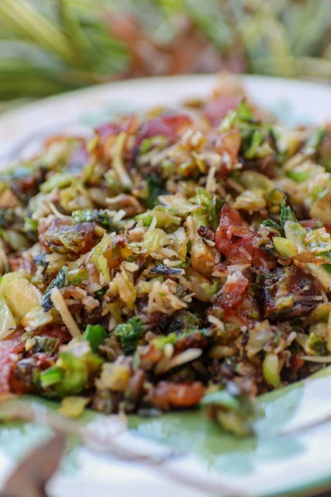Bacon Brussels Sprouts With Dates
