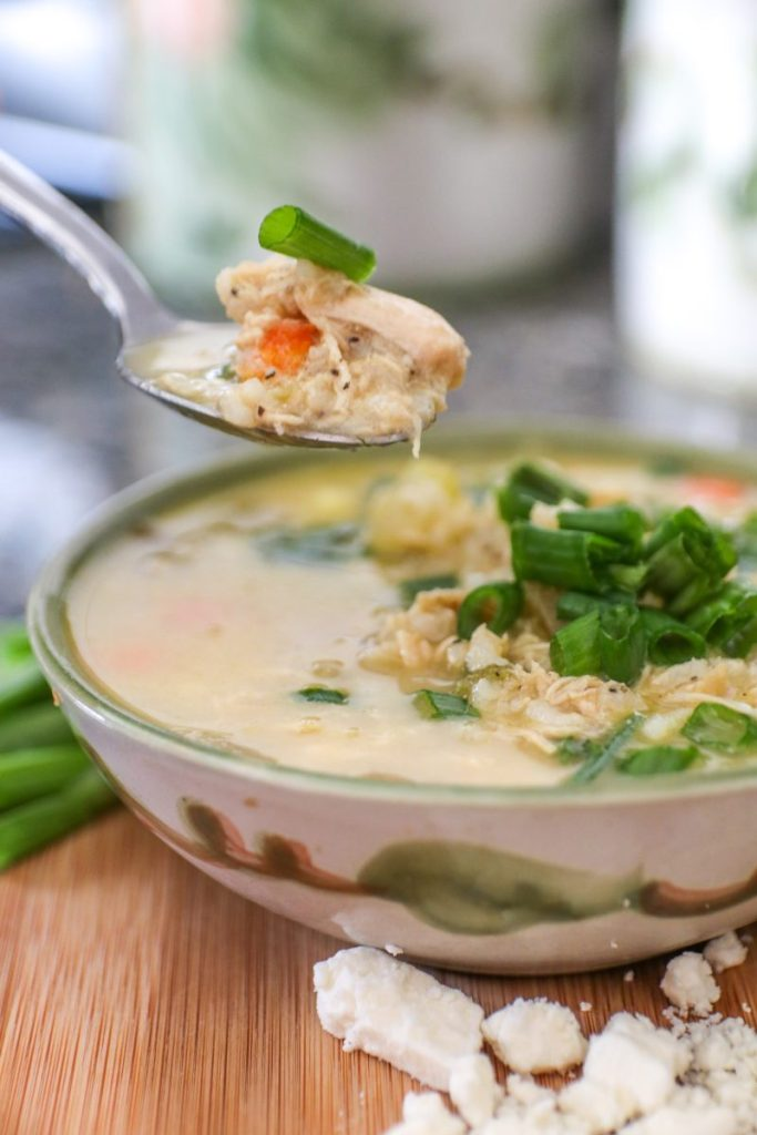 Comforting Lemon Chicken and Rice Soup