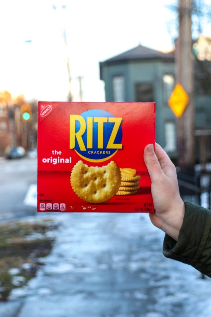 Donate RITZ To Your Local Food Bank