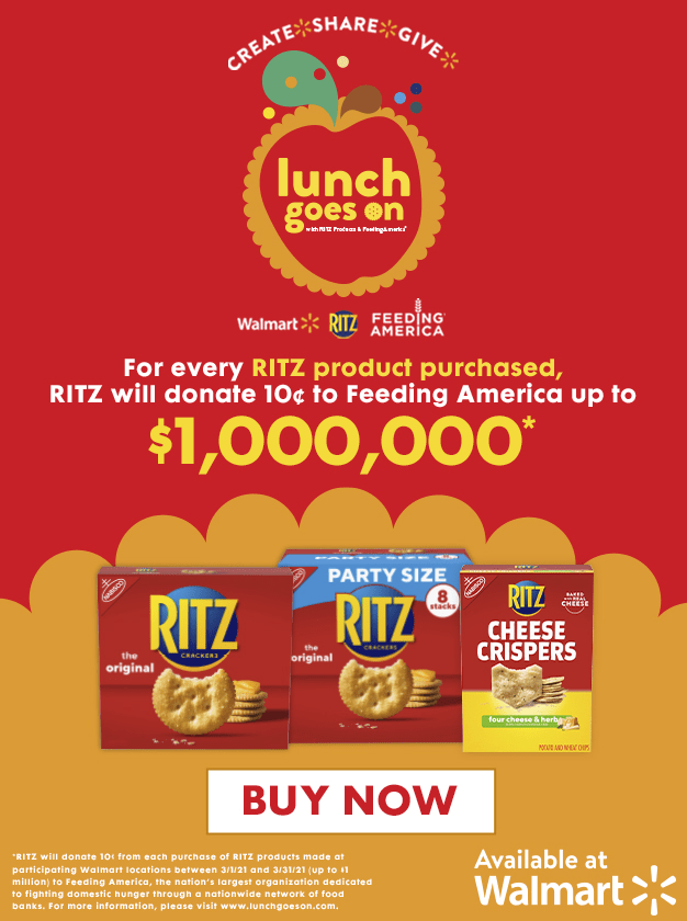 RITZ Lunch Goes On