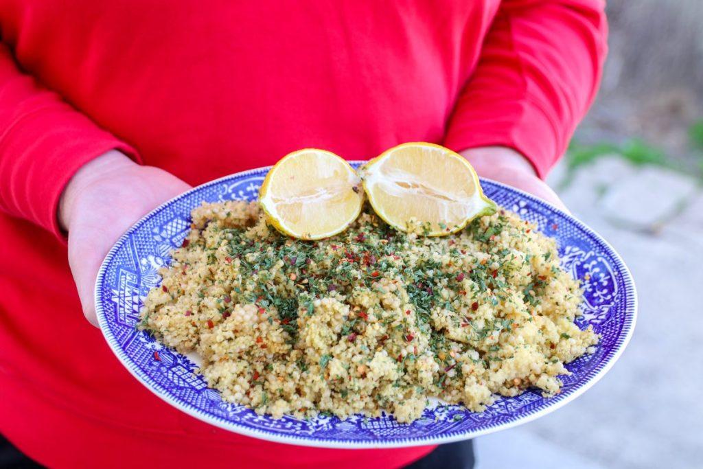 Easy Herbed Couscous Salad