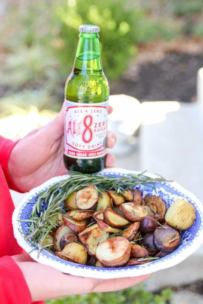 Ginger Rosemary Roasted Potatoes