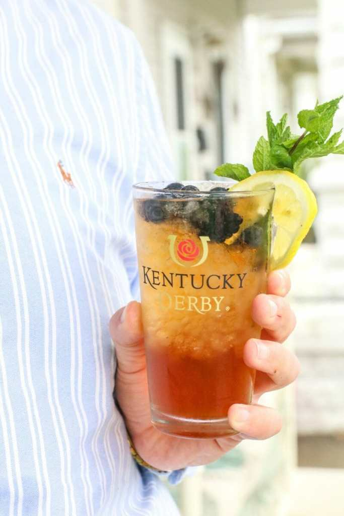 Bourbon Sweet Tea Cocktail Kentucky Derby Party