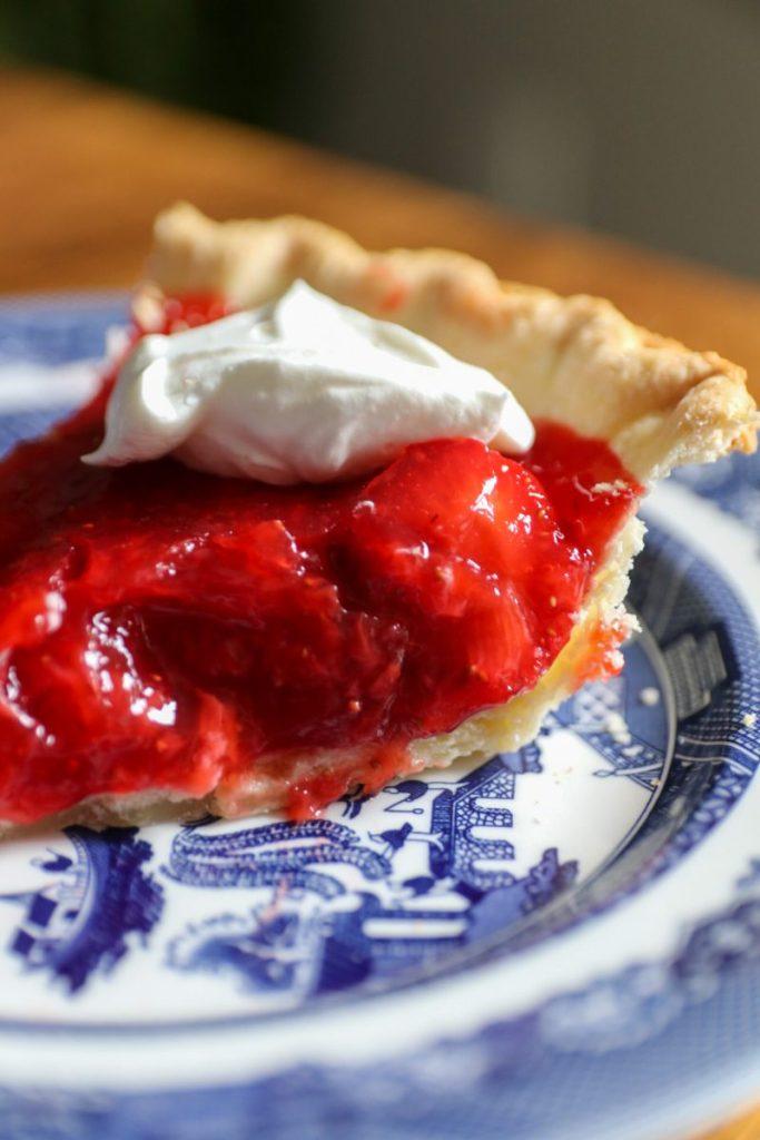 Homemade Strawberry Pie Recipe