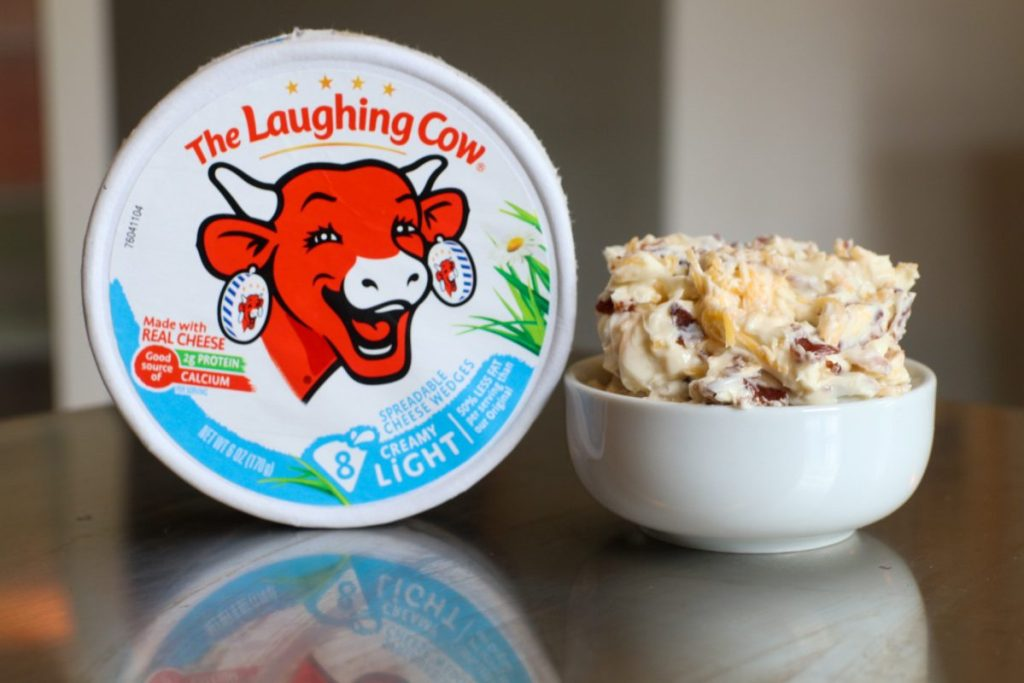 Low Calorie Cheese Filling With Laughing Cow Cheese