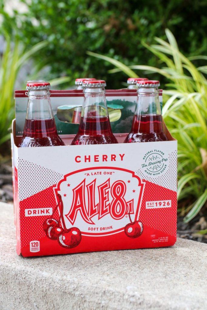 Ale-8-One Cherry Ice Cream Float