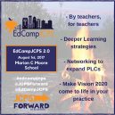 #EdCampJCPS - Coming 8/1 to Moore HS
