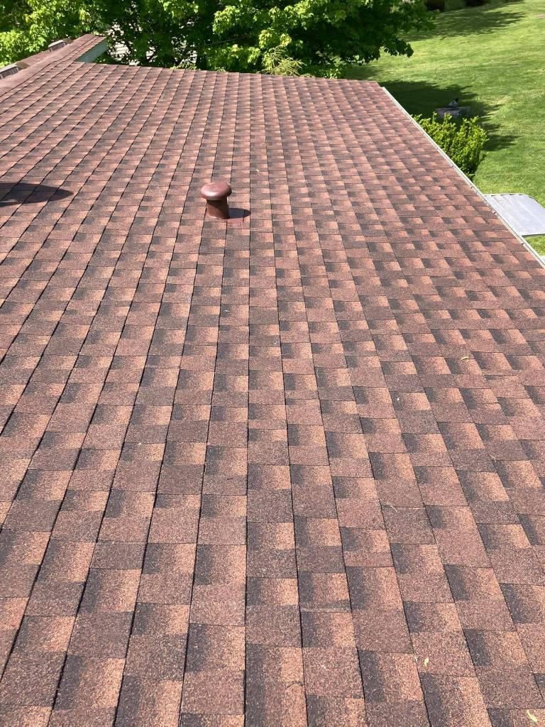 red roof by craig roofing