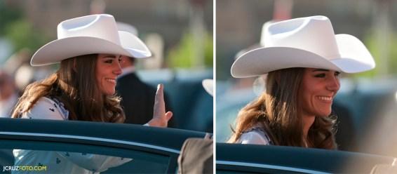 Kate Middleton in Calgary