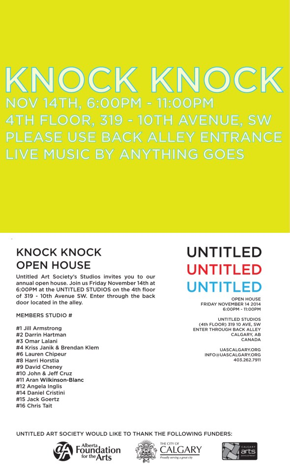 KNOCK KNOCK DIGITAL INVITE