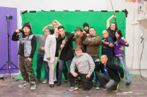 Production Stills of AN.X.O - Filming Day 6