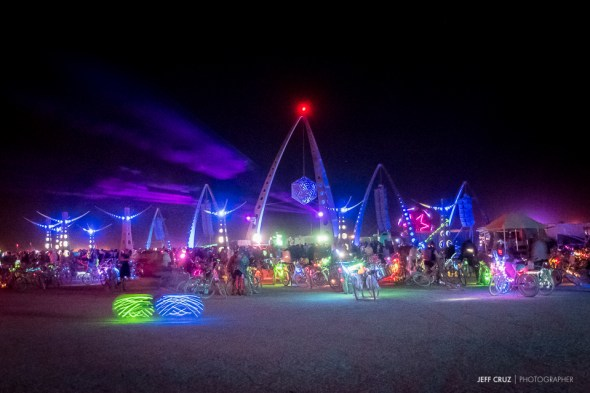 One of the best sounding stages on the Playa.
