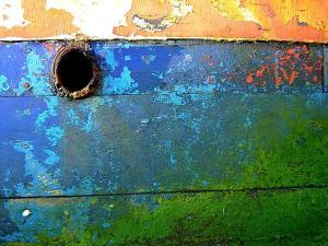 photo cimetière bateaux Berder