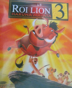 le roi lion 3 - disney - dvd