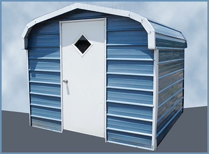 metal backyard storage shed