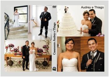 Capa DVD - Casamento Audrey e Thiago