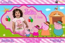 Convite Julia 2 Anos 1