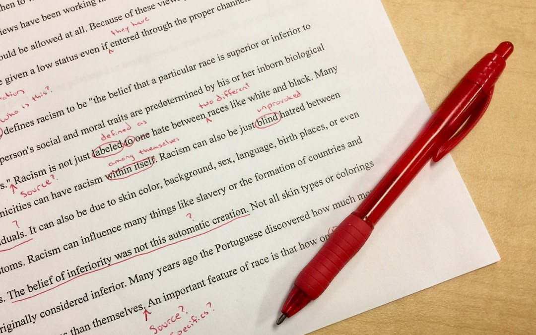 Self-editing for dummies, or how to not annoy your readers