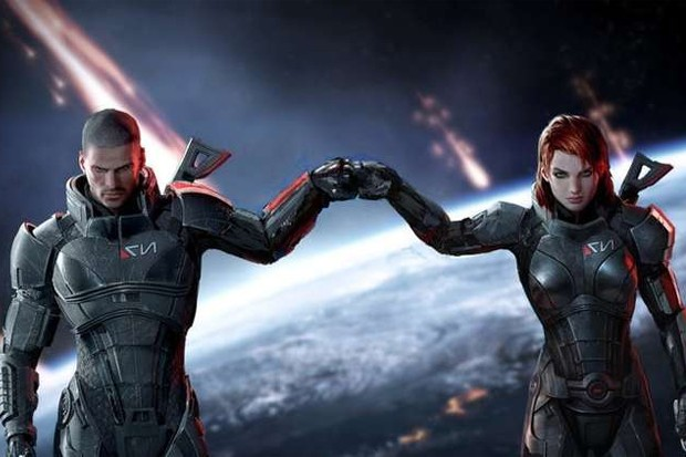 Mass Effect – going old-skool